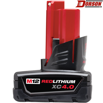 MILWAUKEE M12™ REDLITHIUM™ XC 4.0 Extended Capacity Battery Pack