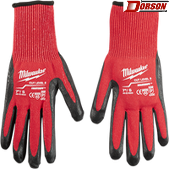 MILWAUKEE Cut Level 3 Dipped Gloves