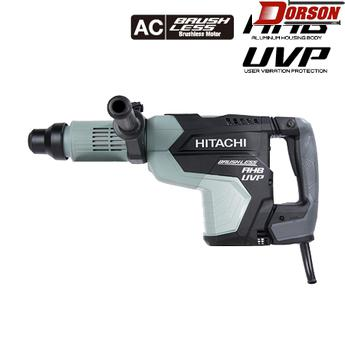 "HITACHI DH52MEY 2-1/16"" AC Brushless, AHB Aluminum Housing Body, UVP User Vibration Protection, AC/DC SDS Max Rotary Hammer"