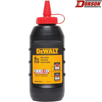 DEWALT 8 oz Chalk - Red