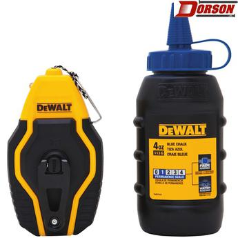 DEWALT Compact Chalk Reel with Blue Chalk