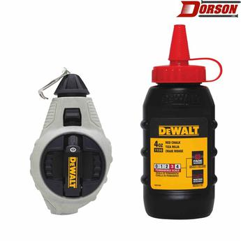 DEWALT 6:1 Chalk Reel with Red Chalk
