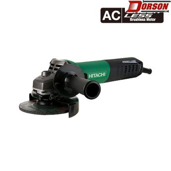 "HITACHI G12VE  12-Amp, AC Brushless 4-1/2"" Variable Speed Angle Grinder"