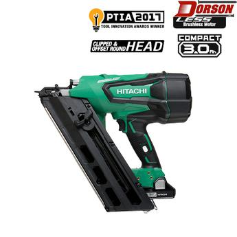 "HITACHI NR1890DC 3-1/2"" 18V Cordless Paper Strip Framing Nailer"