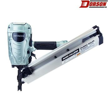 "HITACHI NR90AD(S1)  3-1/2"" Paper Collated Framing Nailer"