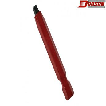 "TASK #2 Robertson® 2"" Red Two-Piece Screwdriver Bit - Bulk"