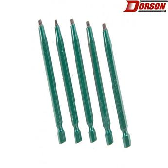 "TASK #1 Robertson® 3"" Green Two-Piece Screwdriver Bit - Bulk"