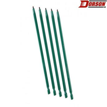 "TASK #1 Robertson® 6"" Green Two-Piece Screwdriver Bit - Bulk"